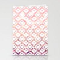 Diamond Blush Stationery Cards