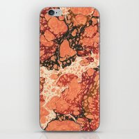 Marble Pink Square # 1 iPhone & iPod Skin