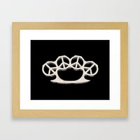 Peace Weapon Framed Art Print