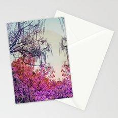 Dibujando un sol en el bosque Stationery Cards