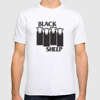 Black Sheep Mens Fitted Tee Ash Grey SMALL