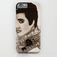 iPhone & iPod Case featuring The King of Rock 'n' Roll (Elvis Presley) by ArtEleanor
