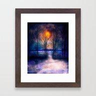 Winter Sonata II Framed Art Print