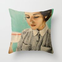 It Was Over Her Second C… Throw Pillow
