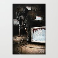 What We Bleed Canvas Print