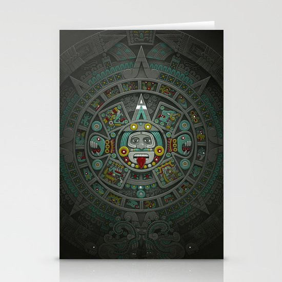 Stone of the Sun II. Stationery Card