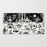 A Grim Hereafter Canvas Print
