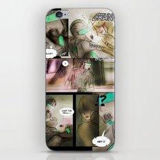 comic strip - chimericall iPhone & iPod Skin
