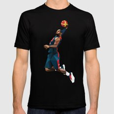 LeBron James SMALL Black Mens Fitted Tee