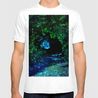 Mystical Path Mens Fitted Tee White SMALL