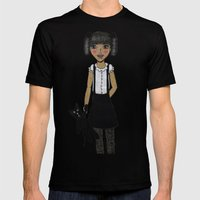Daliah Mens Fitted Tee Black SMALL