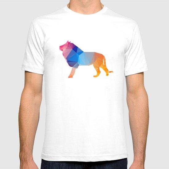 Glass Animal Series - Lion T-shirt