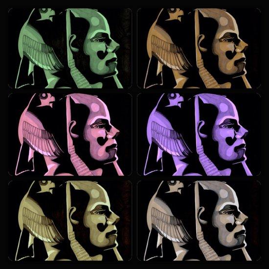 Pharaoh Colors Art Print