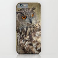 iPhone & iPod Case featuring Owl by mexi-photos