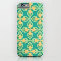 iPhone & iPod Case featuring The Bright Side [Green] by Veronica Galbraith