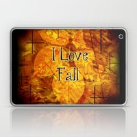 Autumn Memories In Orange I Love Fall.jpg Laptop & iPad Skin