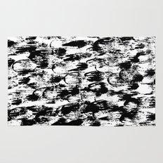 Black Pattern#3 Rug