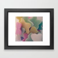 Butterfly Sweet Framed Art Print