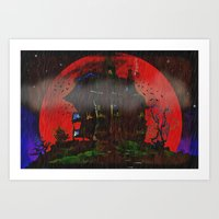 There Was A Crooked Hous… Art Print