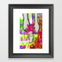 Hand Of Love Framed Art Print