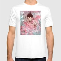Contained Mens Fitted Tee White SMALL