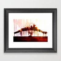 Ship Lift Framed Art Print