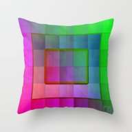 Aperture #1 Fractal Plea… Throw Pillow