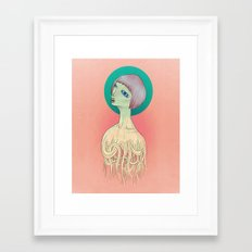 Unravel Framed Art Print