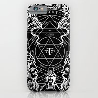 iPhone & iPod Case featuring SIN OF IDOLATRY by DIVIDUS