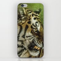 Who Goes There iPhone & iPod Skin