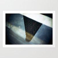 Flatiron Puddle Reflection Art Print