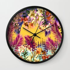 Tropical Time Wall Clock