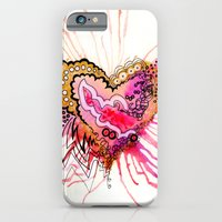 iPhone & iPod Case featuring Golden Love by CSNSArt