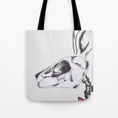 francine the rabbit queen. Tote Bag