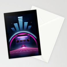 Boombox: Echos of Tomorrow Stationery Cards