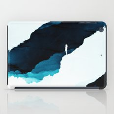 Teal Isolation iPad Case