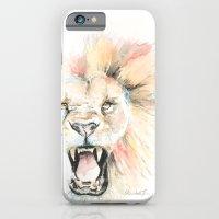Savage Lion iPhone 6 Slim Case