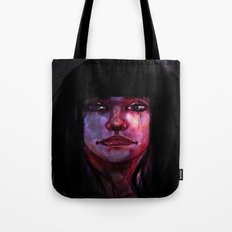 She Sees It in the Stars Tote Bag