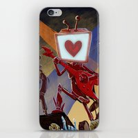 Rock Band Robot iPhone & iPod Skin