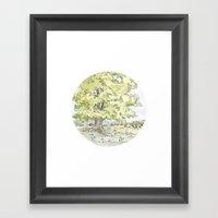 Crop Circle 03 Framed Art Print