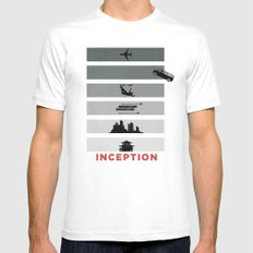 Inception Mens Fitted Tee White SMALL