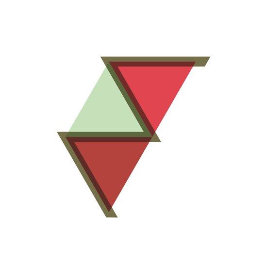#385 Nile – Geometry Daily Art Print