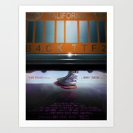 Back To The Future - Mag Art Print