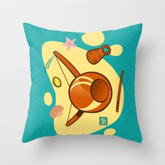 Capoeira 653 Throw Pillow