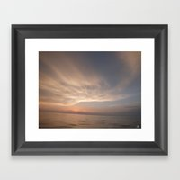 Over The Water Framed Art Print