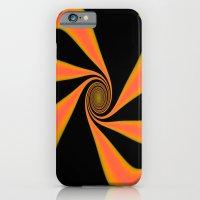 Abstract. Orange+Yellow. iPhone 6 Slim Case