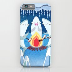 A Shiver of Sharks iPhone 6 Slim Case