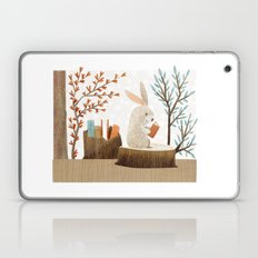 The Bookish Forest: Bunny Laptop & iPad Skin