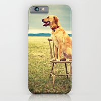 iPhone & iPod Case featuring DogOnChair by Melanie Ann