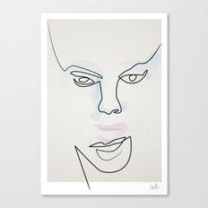 Madam Mask Canvas Print